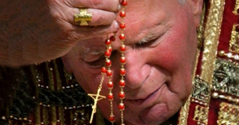 7 CIEST K MODLITBE SV. RUŽENCA PODĽA SV. JÁNA PAVLA II