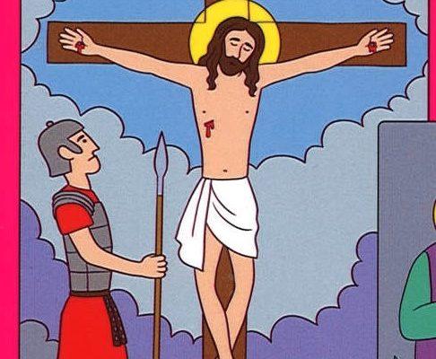 Krížová cesta pre deti 12